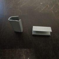 Metallinen vannelukko muovivanteelle